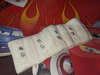 Отдается в дар Вязанная повязка для головы.