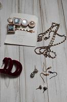 Заколки, сережки, разное для рукоделия