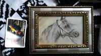 Отдается в дар Картина с конем