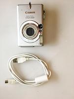 Отдается в дар Фотоаппарат canon icus500 5mgpxl