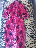 Отдается в дар Красный халат-кимоно с поясом