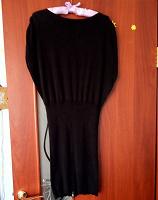 Отдается в дар Трикотажное чёрное платье М