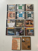 Отдается в дар CD Rom диски разной тематики
