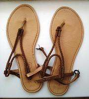 Отдается в дар Летняя обувь 38 рр