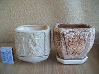 Отдается в дар Горшки цветочные керамические