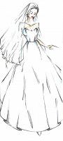 Отдается в дар Новое дизайнерское свадебное платье