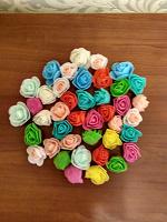 Отдается в дар Цветы из фоамирана на ХМ