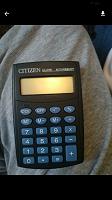 Отдается в дар Калькулятор без батареек