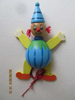 Отдается в дар Деревянная игрушка Петрушка