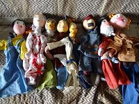 Отдается в дар Куклы папье маше СССР 18 см