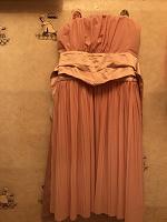 Отдается в дар Платье нежно-розовое размер s