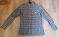 Отдается в дар Клетчатая мужская рубашка (размер S, рост 176-182)
