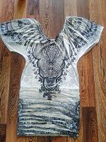Отдается в дар Кофта-платье с коротким рукавом 44