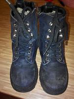 Отдается в дар зимние ботинки натуралка