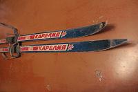 Отдается в дар лыжи детские