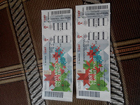 Отдается в дар билеты с Ч М по хоккею, Беларусь 2014