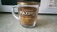 Отдается в дар кофе растворимый Maximus gold