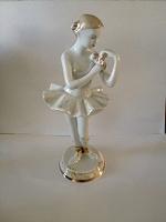 Отдается в дар Фарфоровая статуэтка СССР«Балерина с цветком» ДФЗ Вербилки