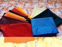 Отдается в дар Смесовые ткани 35 хлопок/65 полиэстер и 100 %полиэстер