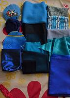 Отдается в дар обрезы ткани для рукоделия