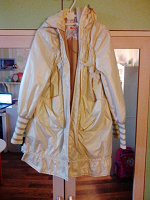 Отдается в дар Плащ-куртка на девочку.122 см.