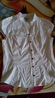 Отдается в дар Белая блузка офис-школа