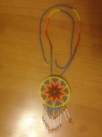 Отдается в дар Этническое украшение на шею