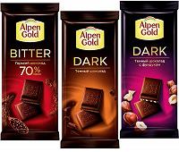 Отдается в дар Шоколад Alpen Gold
