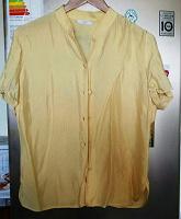 Отдается в дар блуза атлас 48-50