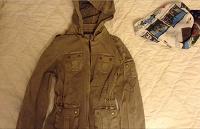 Отдается в дар Курточка с съемным капюшоном
