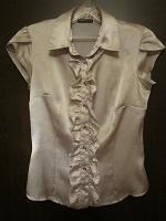 Отдается в дар Блузка серебристого цвета 42-44