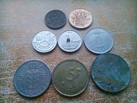 Отдается в дар Монеты Бельгии.
