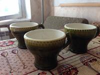Отдается в дар Кофейные чашки, керамика.