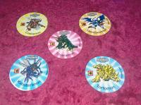 Отдается в дар Фишки в коллекцию по аниме Digimon