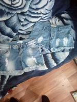 Отдается в дар Шорты джинсовые размер 42-44