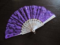 Отдается в дар Фиолетовый веер
