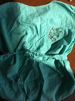 Отдается в дар Винтажная мятная блузка