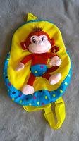 Отдается в дар Рюкзачок малышу с обезьянкой