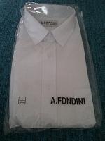 Отдается в дар Рубашка мужская с длинным рукавом прямого кроя.Размер L 42-43. 1 шт.