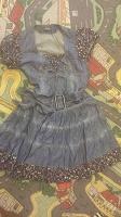 Отдается в дар Джинсовое платье