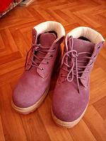 Отдается в дар Женские ботинки(новые)