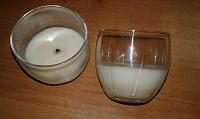 Отдается в дар Свеча в стакане — 2 штуки