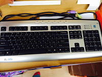 Отдается в дар Клавиатура и мышка проводная