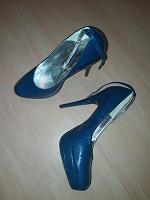 Отдается в дар туфли сине зеленые