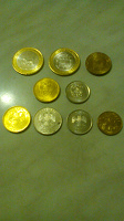 Отдается в дар Новые монеты