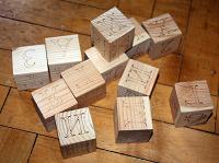 Отдается в дар Кубики алфавит
