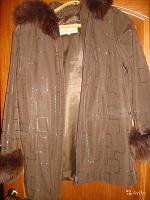 Отдается в дар Красивая теплая осенняя куртка