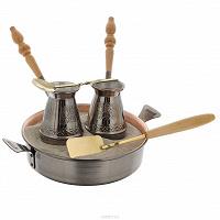 Отдается в дар Отдам набор для приготовления кофе по восточному на песке (б/у)