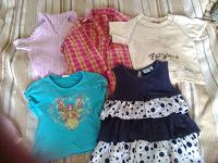 Отдается в дар Водолазки, юбки, шорты на 2-5 лет
