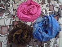 Отдается в дар женские шейные платки